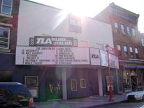 The TLA Marquee.