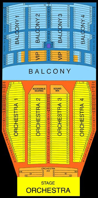 Palace theater louisville seating chart music box theatre 3 d